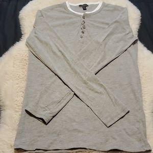 Silver Jeans Boys Long Sleeve Shirt